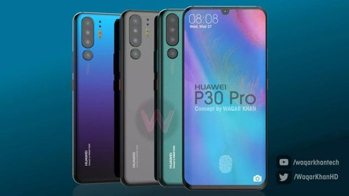 Huawei P30 Pro / fot. Waqar Khan