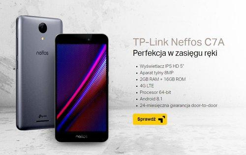TP-Link Neffos C7A / fot. TP-Link