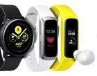 Galaxy Watch Active, Galaxy Fit i Galaxy Buds. Świetny smartwatch, opaski fitness i słuchawki od AKG