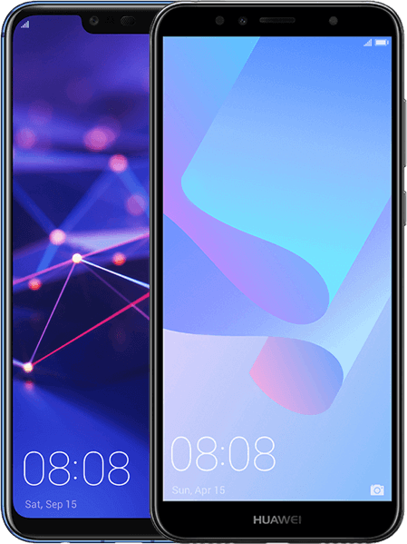 Huawei Mate 20 lite + Huawei Y6 2018