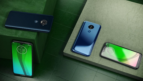 Smartfony Moto G7 / fot. Motorola