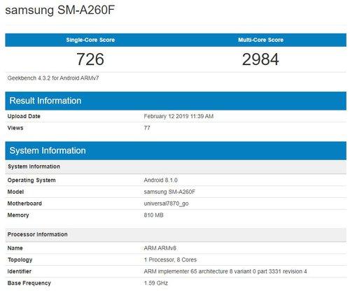Samsung SM-A260F