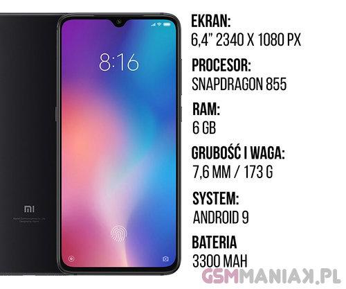 d66394a3d9 Specyfikacja Xiaomi Mi 9