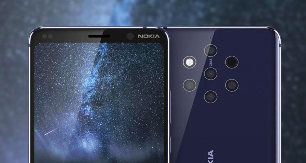 Nokia 9 Pureview/fot. Nokia