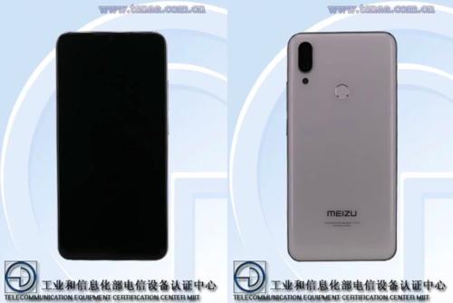 Meizu Note 9/fot. TENAA