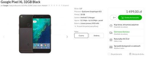 Google Pixel XL/fot. x-kom