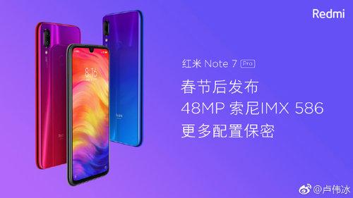 Redmi Note 7 Pro / fot. Weibo
