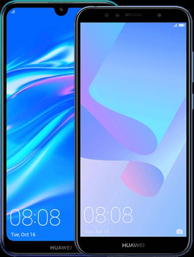 Huawei Y7 (2019) i Huawei Y6 (2018)