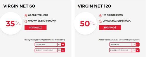 zrzut ekranu z virginmobile