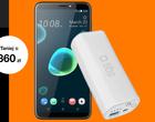 Oferta tygodnia w Orange: HTC Desire 12+ z powerbankiem taniej o ponad 350 zł. Warto?