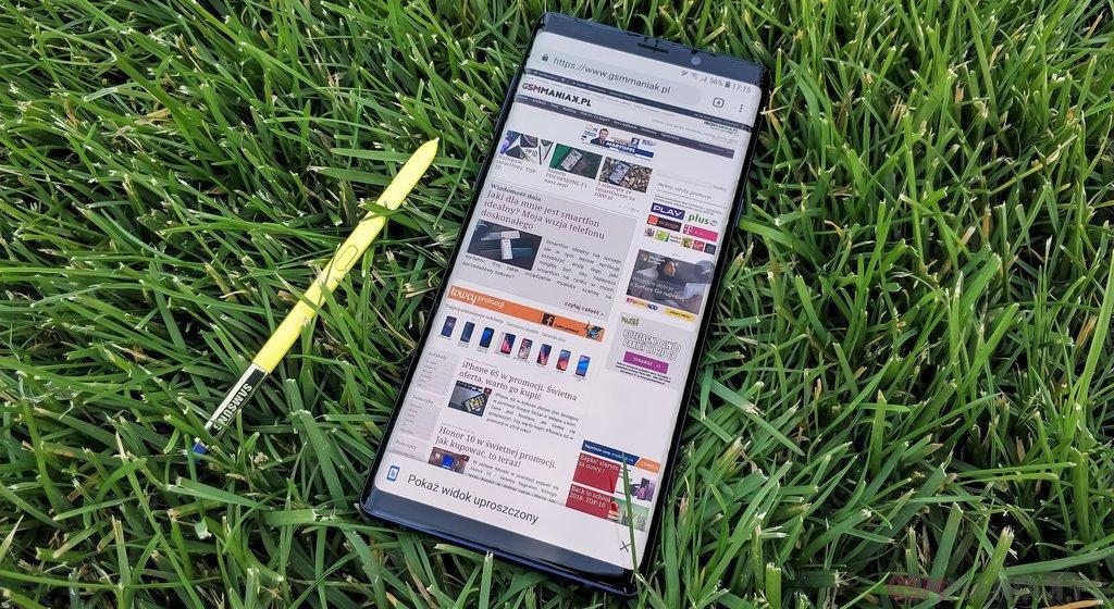 Samsung Galaxy Note 9 / fot. gsmManiaK.pl