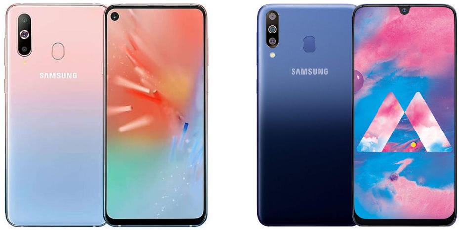 Samsung Galaxy A60 i A40s/fot. Samsung