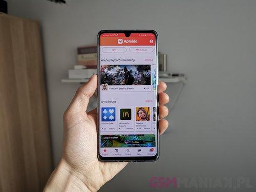 Przetestowałem zamiennik Sklepu Play na smartfonie Huawei  Aptoide
