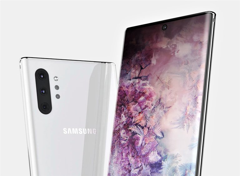 Samsung Galaxy Note 10 Pro / fot. OnLeaks & PriceBaba