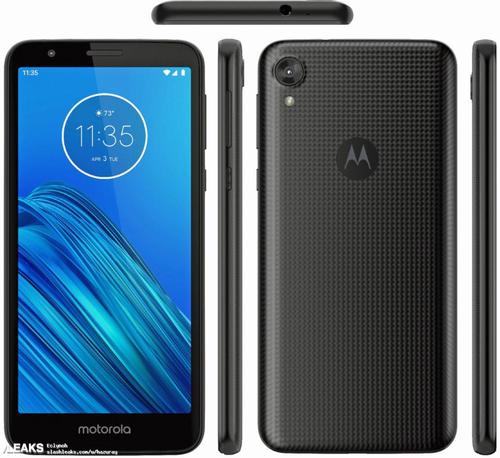 Motorola Moto E6/fot. SlashLeaks