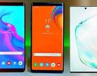 W porównaniu do poprzedników Galaxy Note 10 wygląda jak maluszek