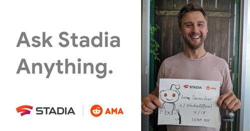 Google Stadia AMA