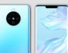 Huawei Mate 30 i Mate 30 Pro z pokaźnymi bateriami i błyskawicznym ładowaniem