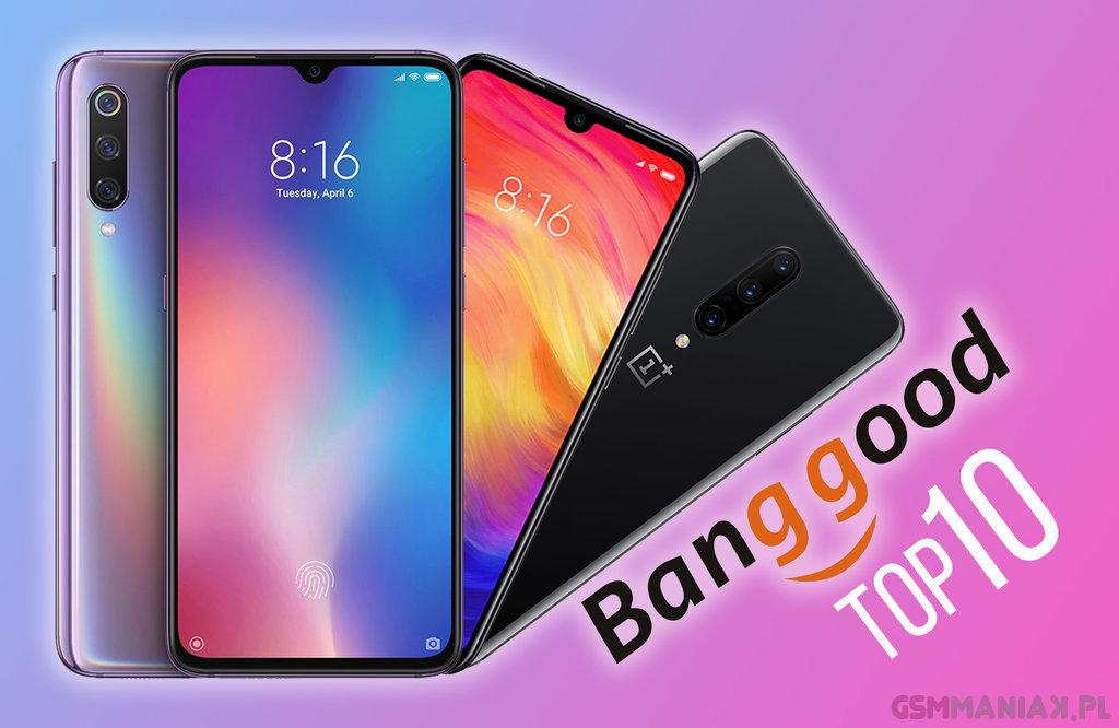 TOP smartfony banggod