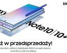Smartfony Galaxy Note 10 w ofertach operatorów. Sprawdź ceny i wybierz najlepszą ofertę!