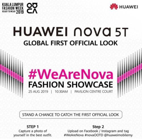 Data premiery Huawei Nova 5T/fot. Huawei