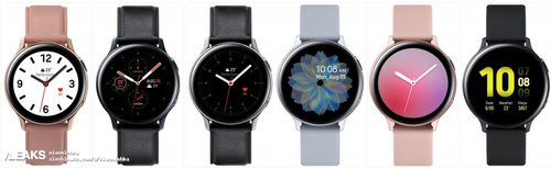 Samsung Galaxy Watch Active 2/fot. SlashLeaks