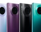 Wyciekła specyfikacja Huawei Mate 30 Pro! Wielka bateria, genialny aparat i świetne kolory