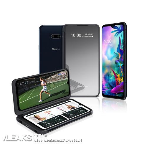 LG G8X/fot. SlashLeaks