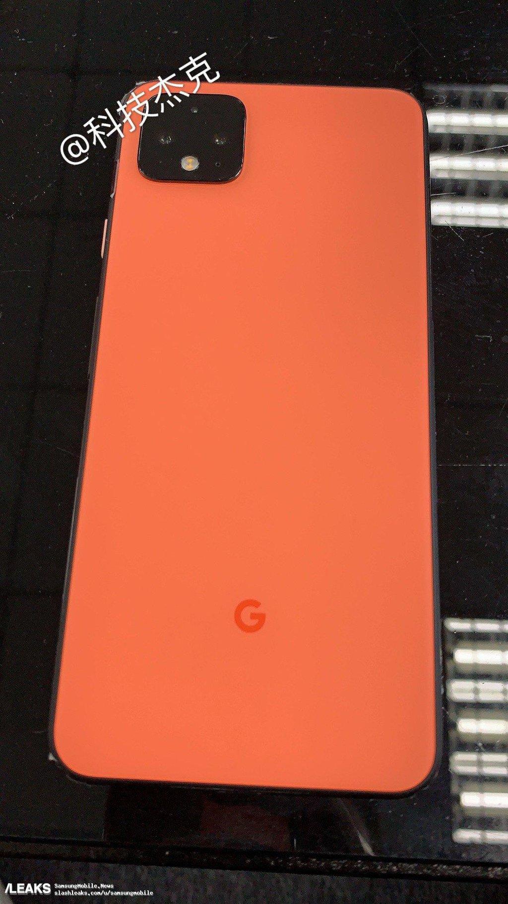 Google Pixel 4/fot. SlashLeaks