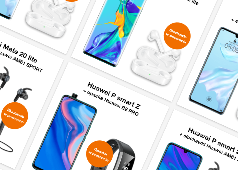 Huawei promo Orange