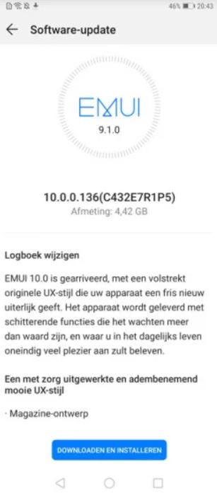Android 10 dla Huawei Mate 20 Pro/fot. gizmochina