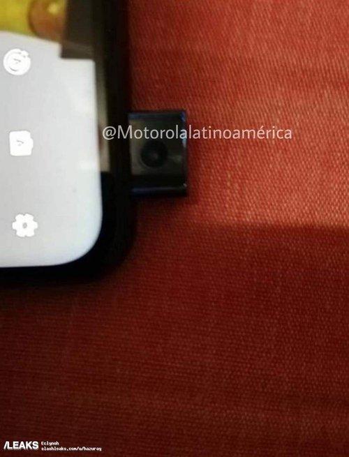 Nieznany model Motoroli/fot. SlashLeaks