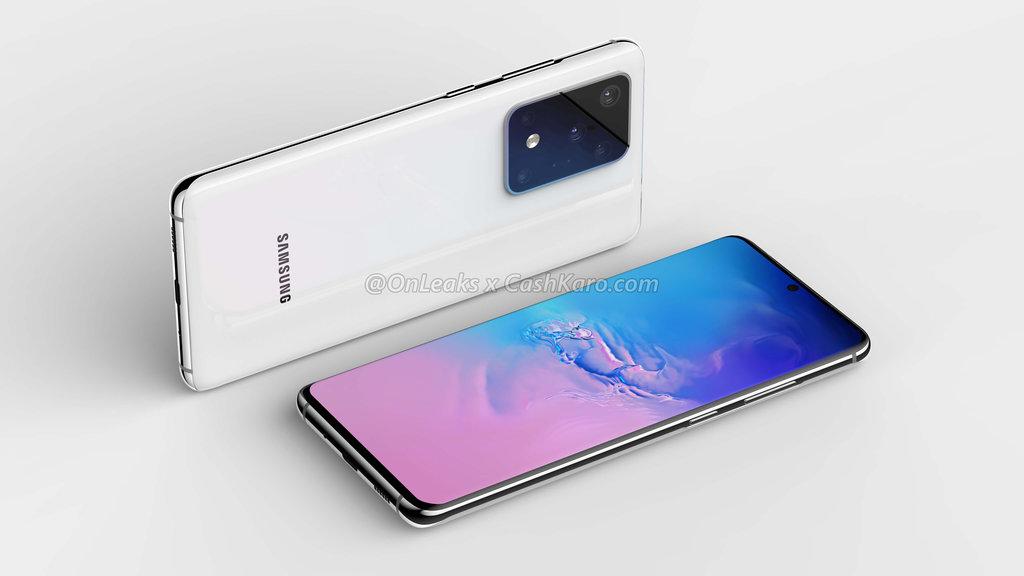 Galaxy S11+/S20 / fot. OnLeaks & CashKaro
