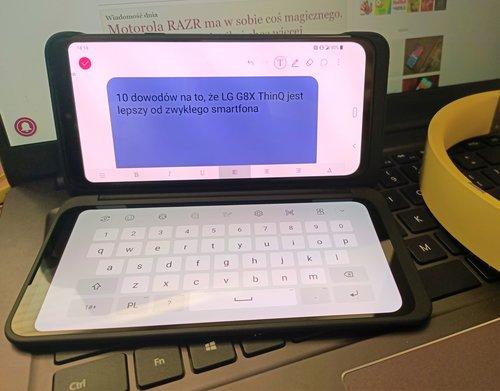 LG G8X ThinQ z DualScreen/fot. gsmManiaK.pl