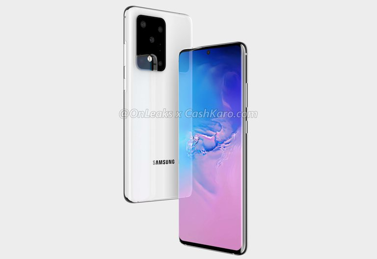 Galaxy S11+ / fot. OnLeaks & CashKaro