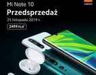 Xiaomi Mi Note 10 z prezentami w polskiej przedsprzedaży. Kupisz go w obecnej cenie?