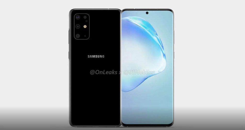 Samsung Galaxy S11/fot. OnLeaks&91mobiles