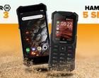 HAMMER 5 Smart (telefon z funkcjami smart) i Iron 3 (prosty twardziel) wchodzą na rynek