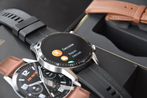 Huawei Watch GT2 elementy menu (1) / fot. techManiaK