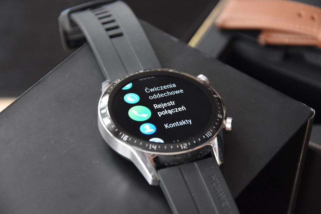 Huawei Watch GT2: elementy menu (2) / fot. techManiaK