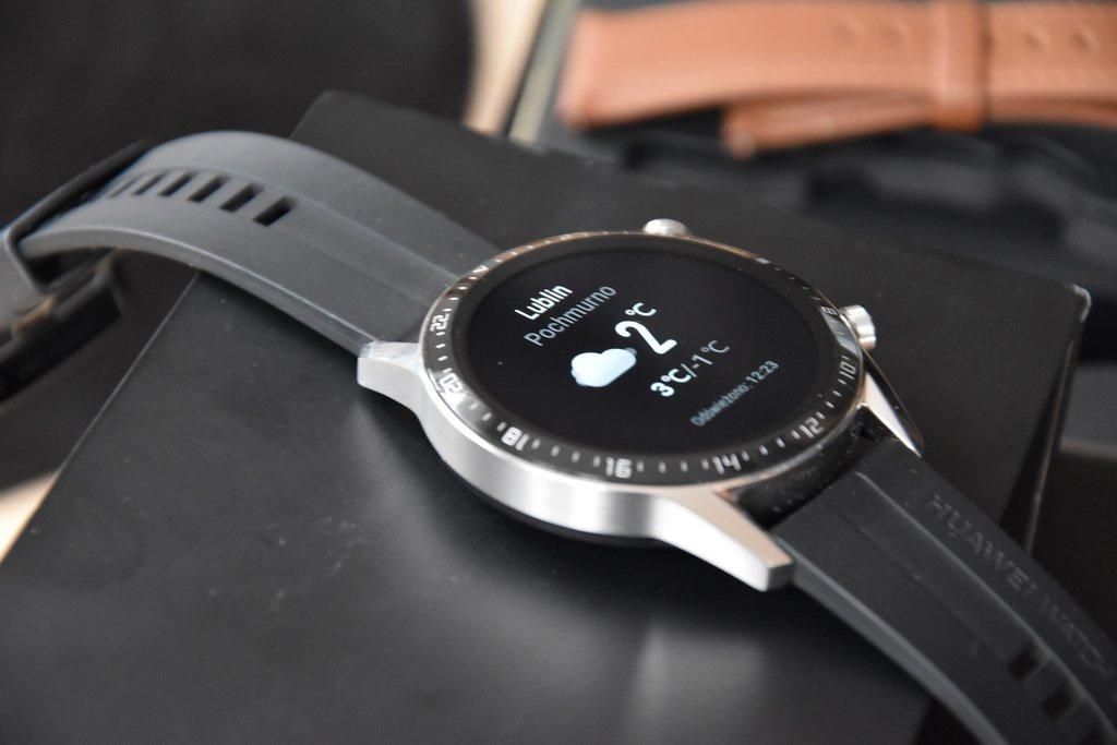 Huawei Watch GT2: pogodynka / fot. techManiaK