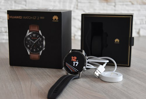 Huawei Watch GT2: zestaw / fot. techManiaK