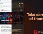 aktualizacja Android Opera tryb nocny