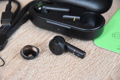 Razer Hammerhead True Wireless: słuchawka bez silikonowej osłonki / fot. techManiaK