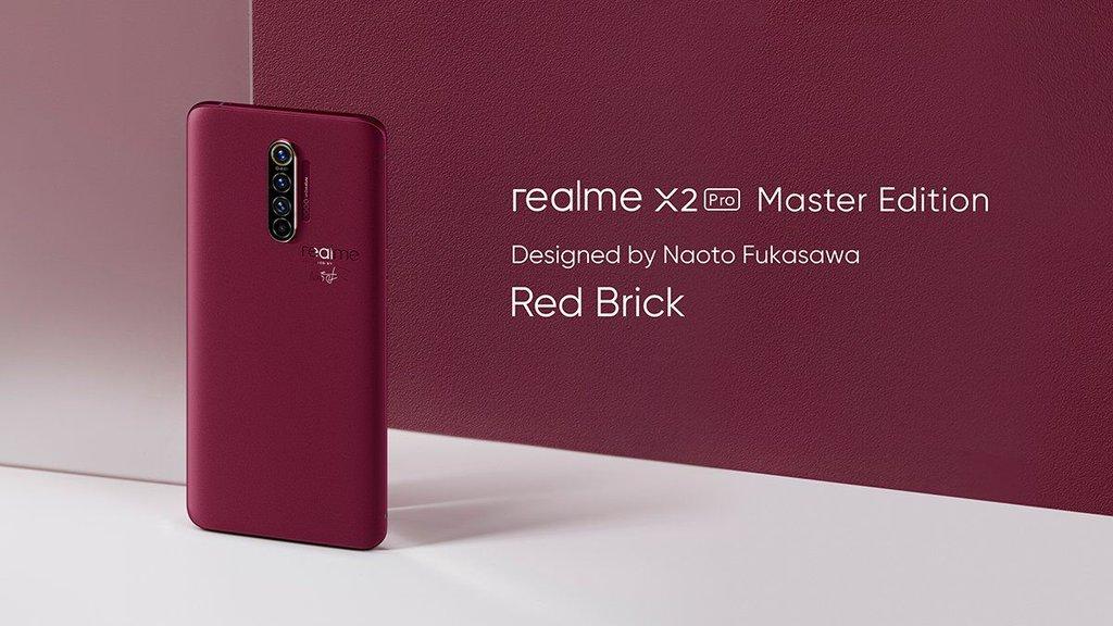 Realme X2 Pro Master Edition Brick Red