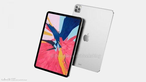 iPad Pro 2020/ fot. OnLeaks&iGeekBlog