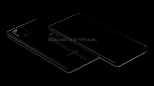 Samsung Galaxy Note 10 Lite/fot. OnLeaks&91mobiles