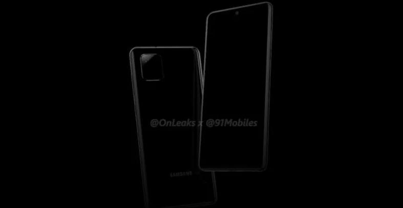 Samsung Galaxy Note 10 Lite/fot. OnLeaks & 91mobiles
