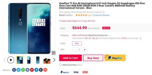 oneplus 7t promo