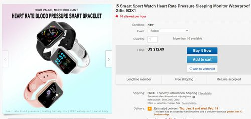 smartwatch promo
